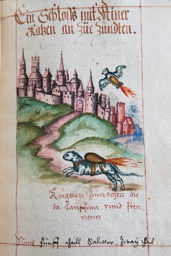Why Do 16th-Century Manuscripts Show Cats With Flaming Backpacks?