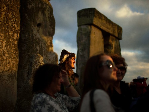 Pictures: Celebrating the 2013 Summer Solstice