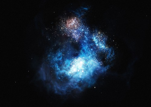Astronomers Glimpse Very First Stars in the Universe