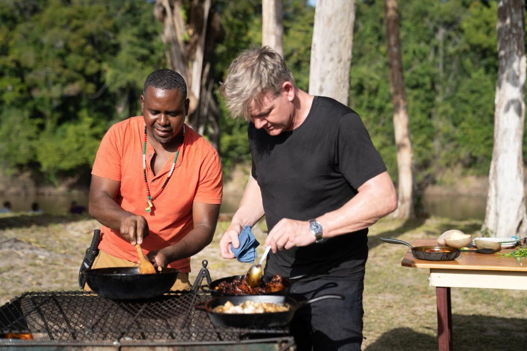 Gordon Ramsay Voyages Deep Into the Rainforest of Guyana
