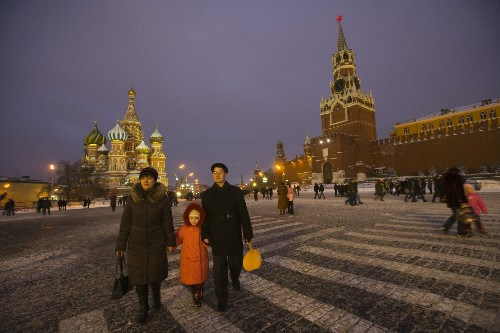 Moscow: Opulent, Overwhelming, and Pulsing With Power