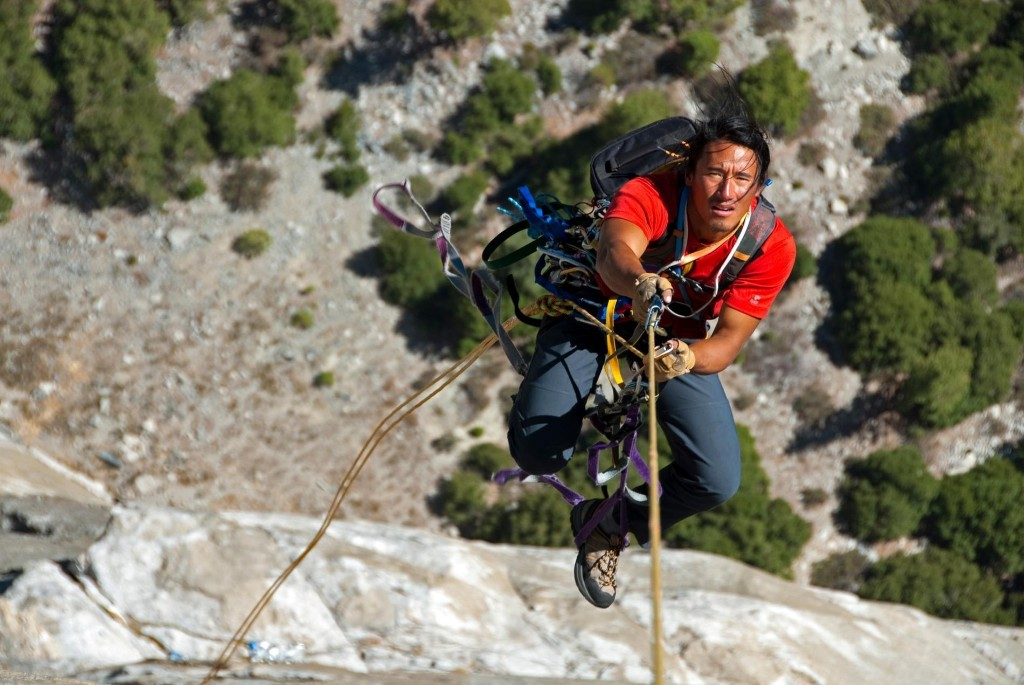 Mountaineer and filmmaker Jimmy Chin talks about facing fear and family travel
