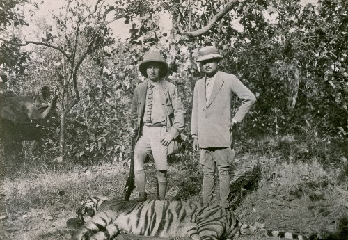 Tiger Hunting in India 1924