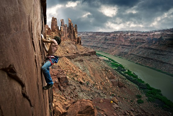 Behind the Shot: Climbing New Routes Along the Green River, Utah
