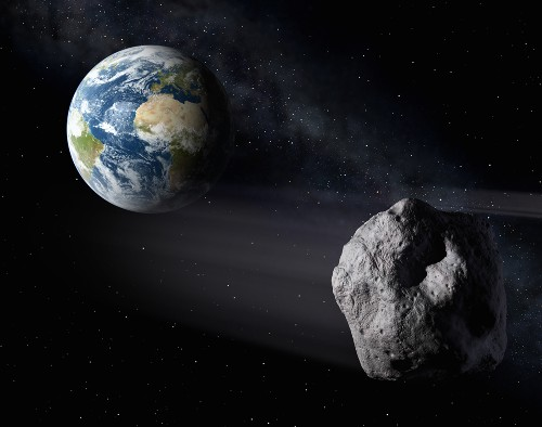 Watch Jumbo Asteroid Zip Past Earth