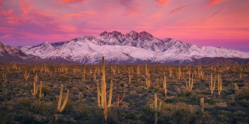 Frosted Peaks Photo by Peter Coskun — National Geographic Your Shot