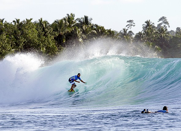 Learning to Surf in Indonesia's Mentawai Islands