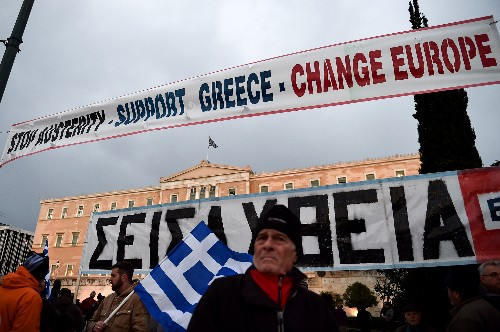 As the Purse Strings Tighten, Old Wounds Open In Athens and Berlin