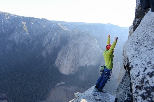 Duo Completes First Free Climb of Yosemite's Dawn Wall, Making History