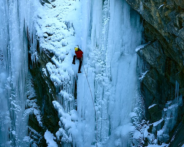 Adventure 101: Ice Climbing in Ouray