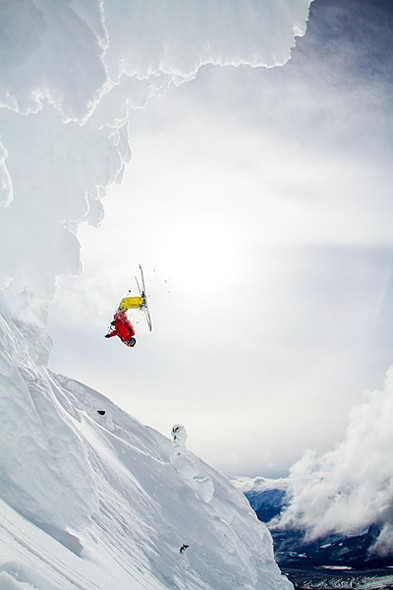 Behind the Shot: Skier Carter McMillan Pulls Off a Perfect Backflip in Revelstoke, BC