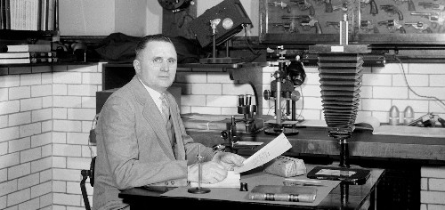 Secret Crime-Fighter Revealed to Be 1930s Physicist
