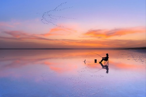 Catching Fish in Simerenya Photo by F. Dilek Uyar — National Geographic Your Shot