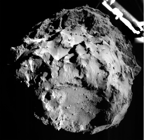 """Our Lander's Asleep"": Philae Delivers Science as Batteries Fade"