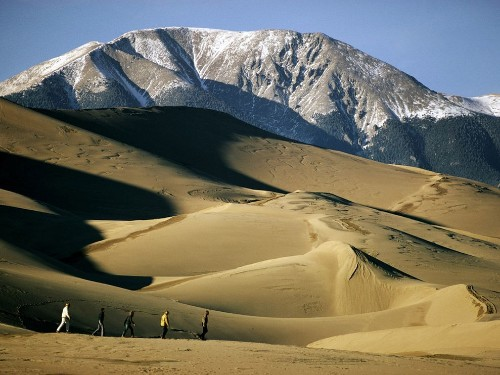 Explore the Largest Sand Dunes in North America