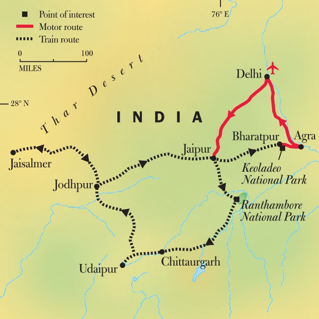 India's Fabled Rajasthan by Rail