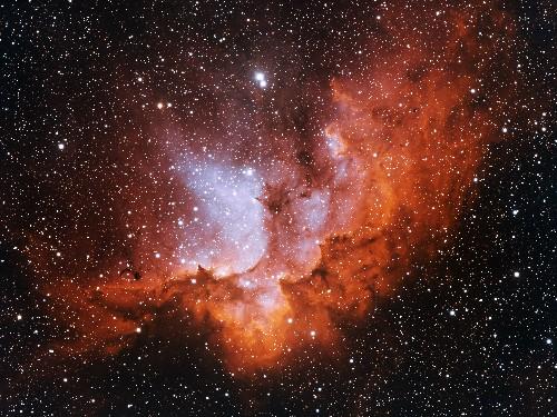 Wizard Nebula, Gravity Waves