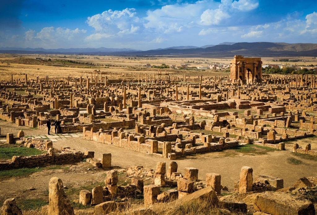 The Sahara buried this ancient Roman city—preserving it for centuries