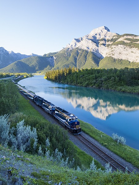 Pictures: Canada's Rocky Mountaineer Train