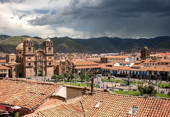Just Back: Cusco, Peru