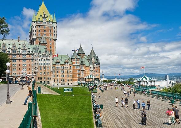 Quebec's Grande Dame: Château Frontenac