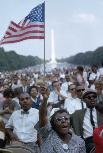Pictures: Marches on Washington, 1963 vs. 2013
