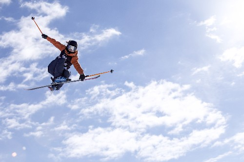 Photograph with National Geographic at the X Games Aspen