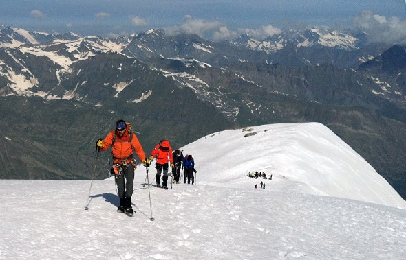 Climbing Mont Blanc: The Mountains Make the Rules