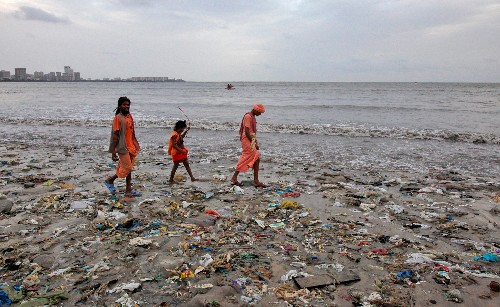 Where Has All the (Sea Trash) Plastic Gone?