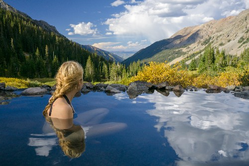 Here is the ultimate hot springs road trip in Colorado