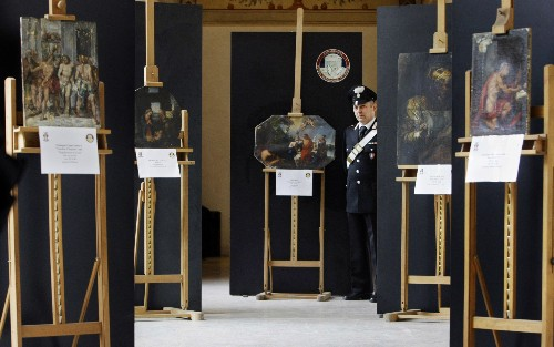 Italy's Artifacts Police Wage Global War, Recover 137,000 Objects