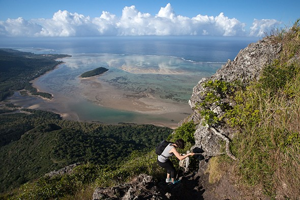 Hiking Peaks on an Island Paradise