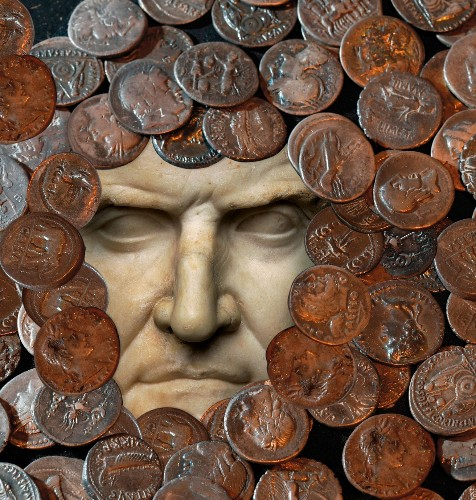 Money was not enough for Crassus, the richest man in Rome