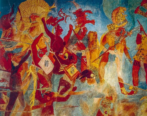 Ancient Maya practiced 'total war' well before climate stress