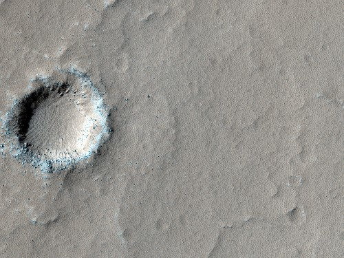 Martian Volcano May Once Have Hosted Life-Friendly Lakes