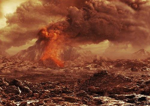 Volcanoes on Venus May Still Be Awake