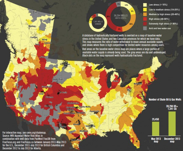Fracking in Water-Stressed Zones Increases Risks to Communities – and Energy Producers