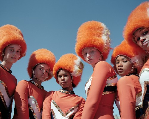 The drum majorettes of South Africa can outwork you