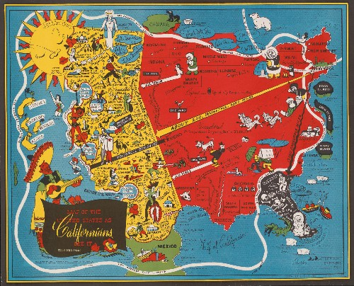 Geography Isn't Sacred in the Playful World of Pictorial Maps
