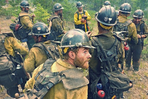 Your Shot Pictures: Wildfires From the Front Lines