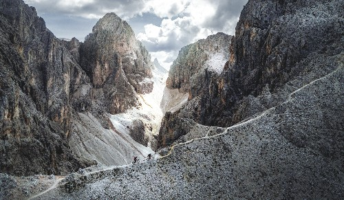How to scale the 'iron paths' of the Dolomites