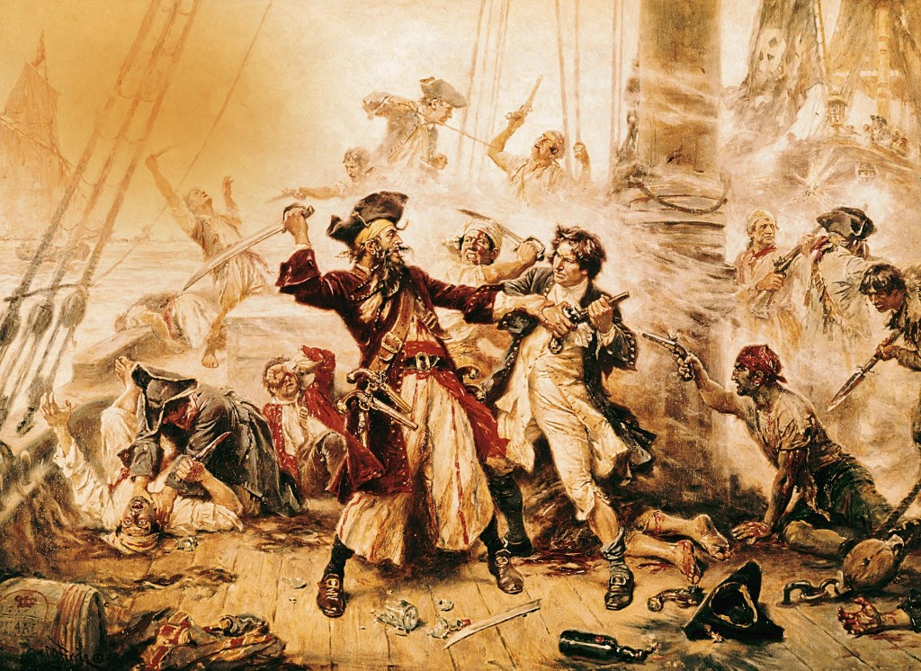Ahoy! It's the real pirates of the Caribbean—and the Carolinas