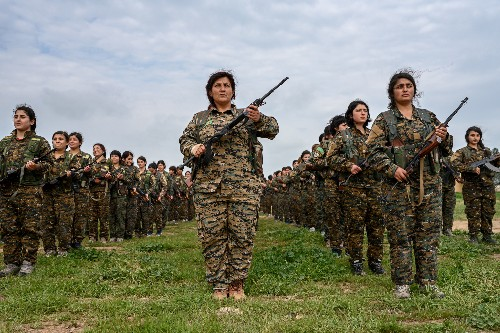 On today's battlefields, more women than ever are in the fight