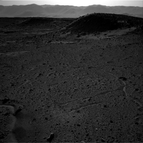 Strange Lights in Mars Photos Are Not Alien Bonfires