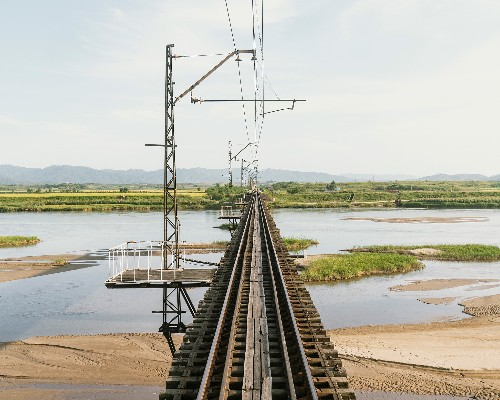Take a train through North Korea's rarely seen countryside