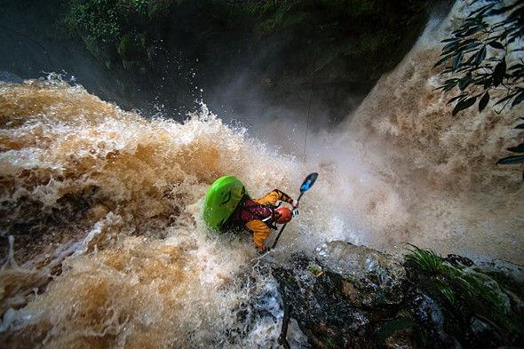 Behind the Shot: Kayaking Over Waterfalls in the Amazon