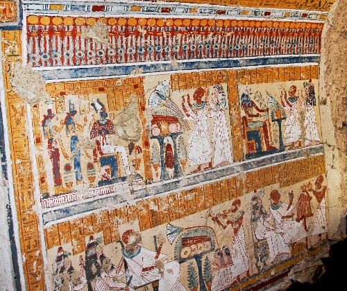 Ancient Egyptian Chief Brewer's Beautiful Tomb Discovered