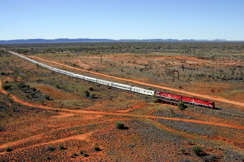South Australia's Adventures of a Lifetime: Ride the Ghan
