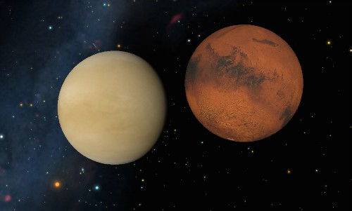 4 Sky Events This Week: Mars Snuggles With Venus, Green Comet Rings a Bell
