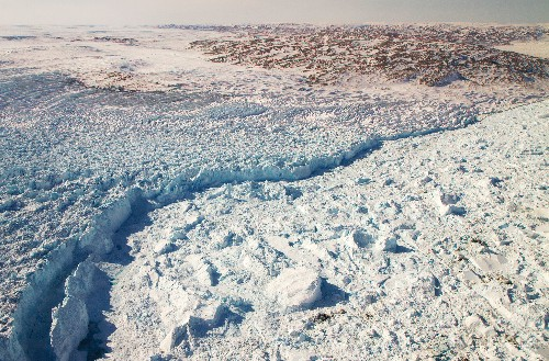 A Greenland glacier is growing. That doesn't mean melting is over.